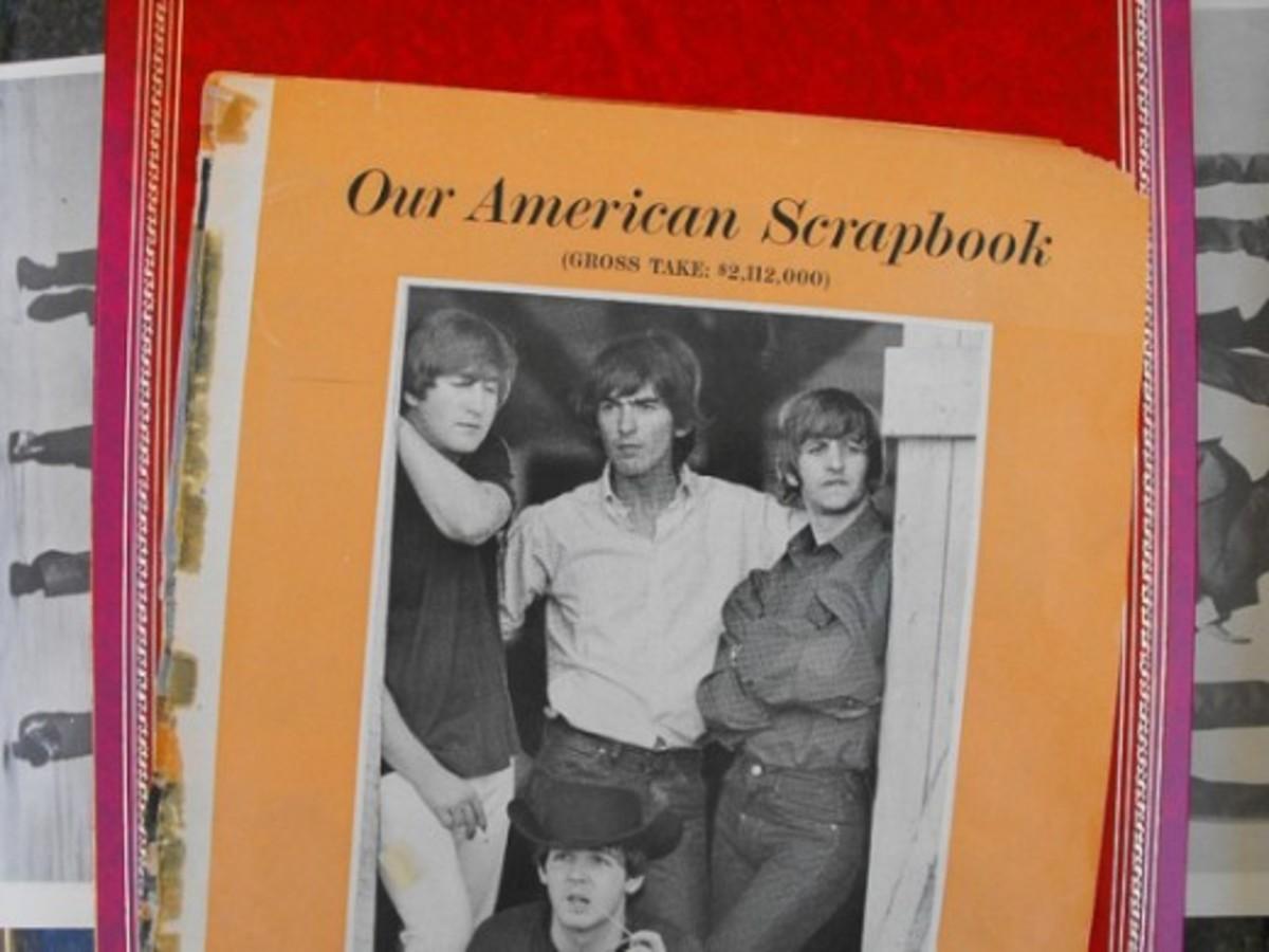 Beatles Scrapbook Clippings 1965