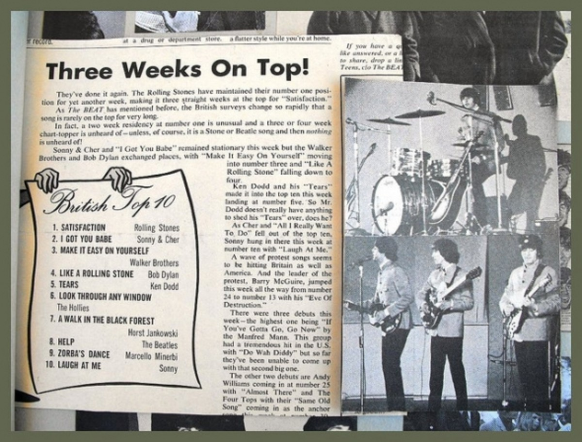 scrapbook of the Beatles 1965 on flickr