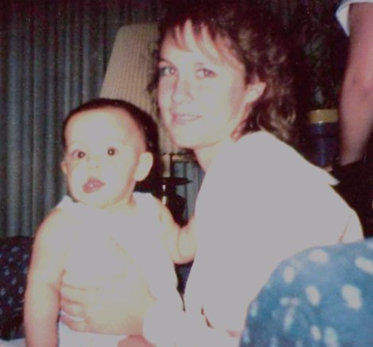 Ashley and I  June 1990