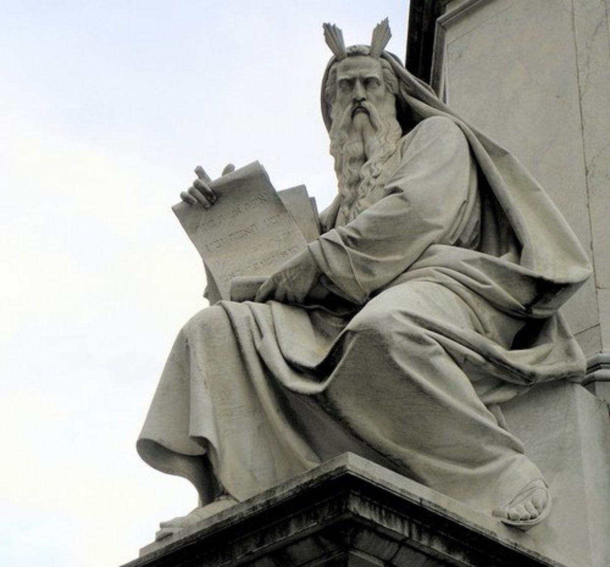 Statue of the Prophet Moses.