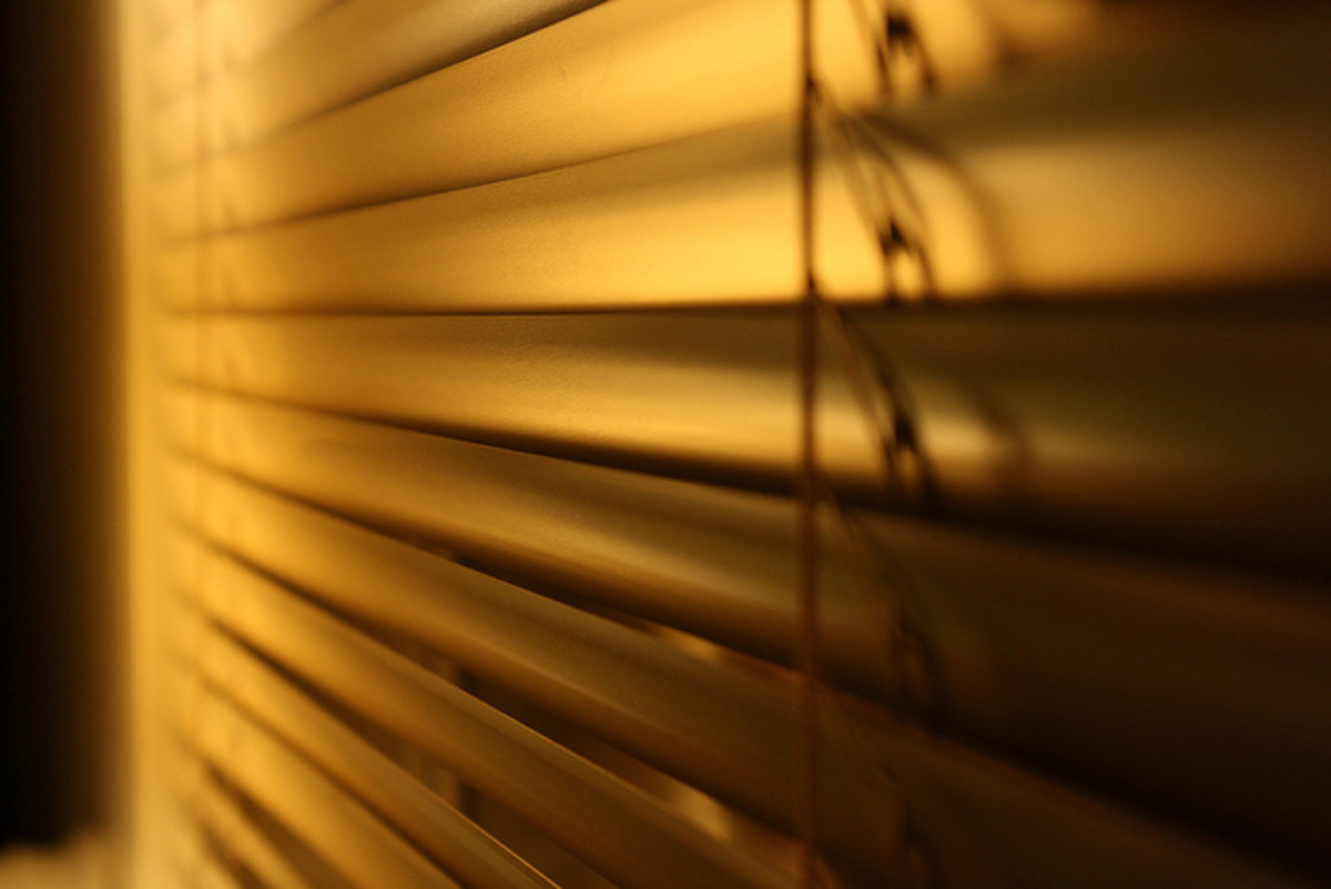 It's freaking creepy to walk around naked with your curtains open—day or night.