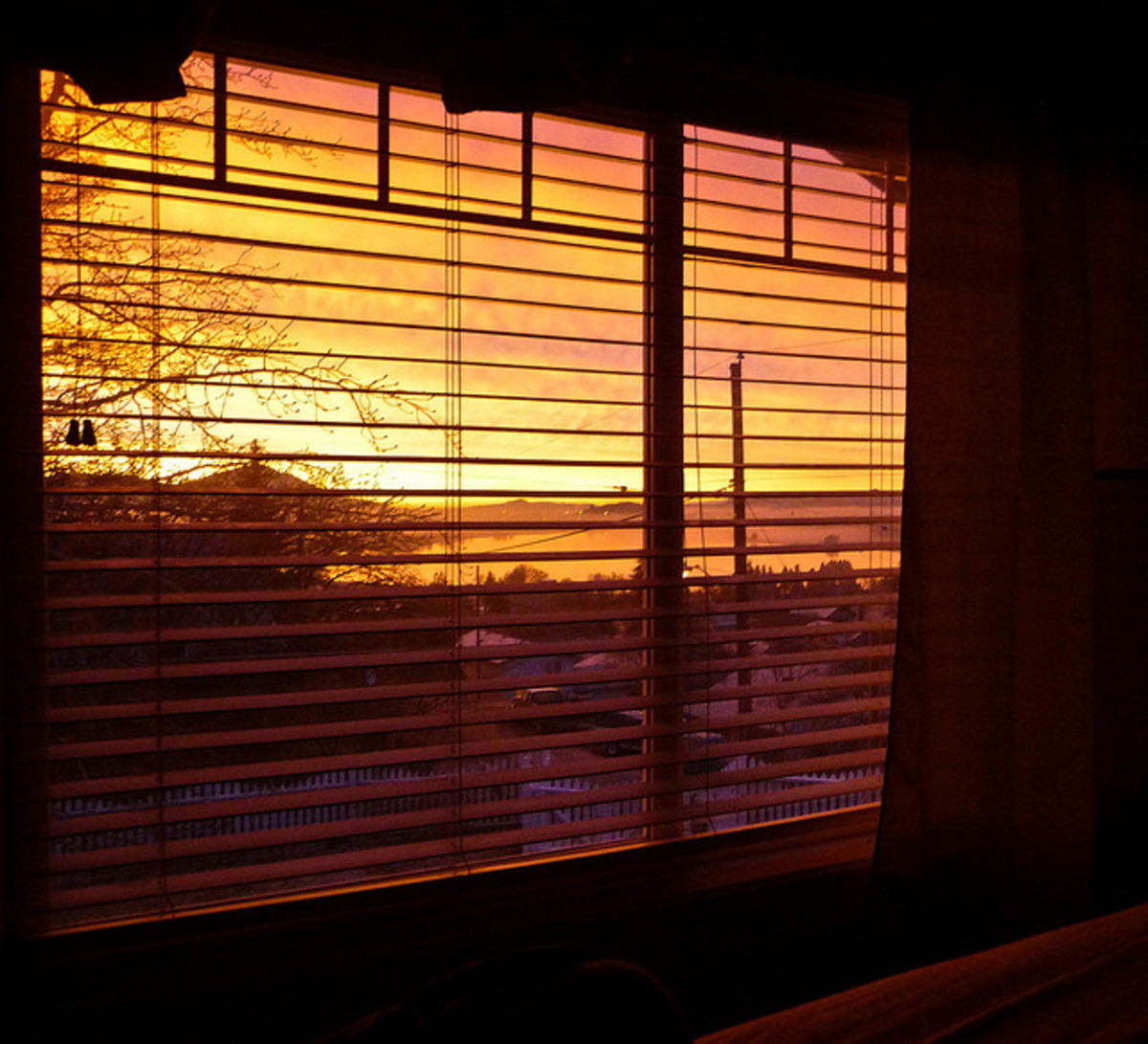 Time to close the blinds.. or is it?