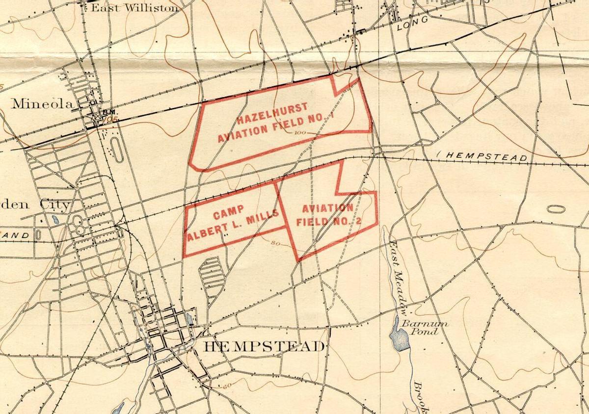 Hazelhurst Field, 1918