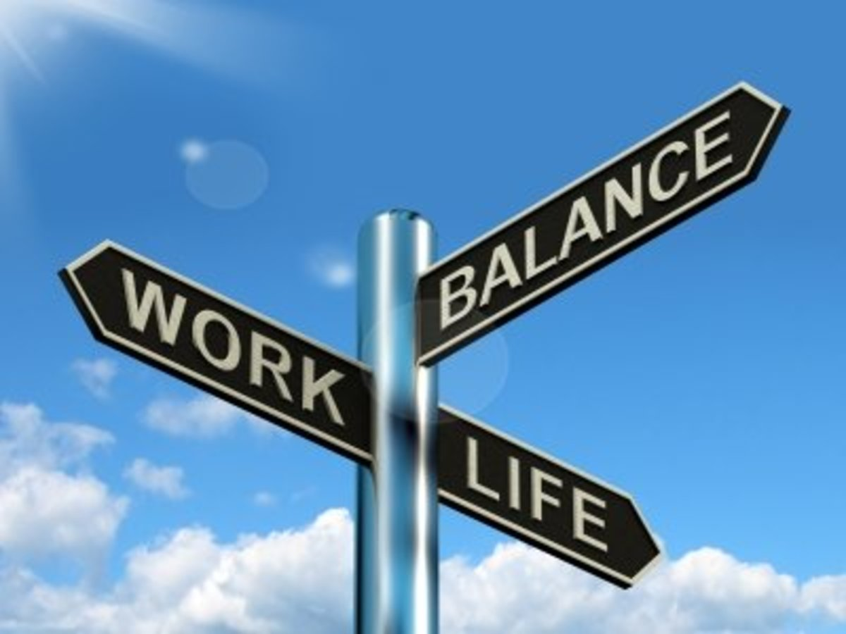 You can find balance among the important areas of your life, with you faith at the center, even in times of adversity.