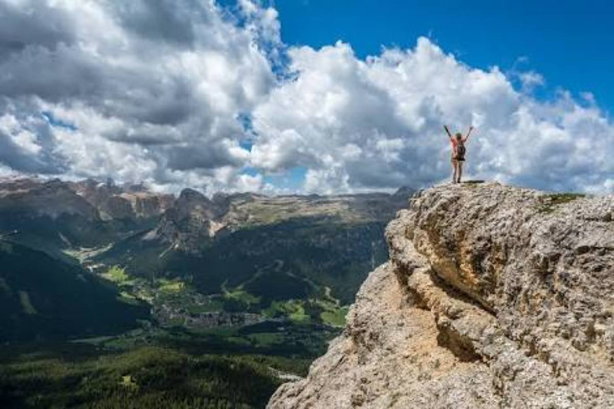 Throw away every bit of your painful memories from the mountain top. It does help you recover from your unpleasant past.
