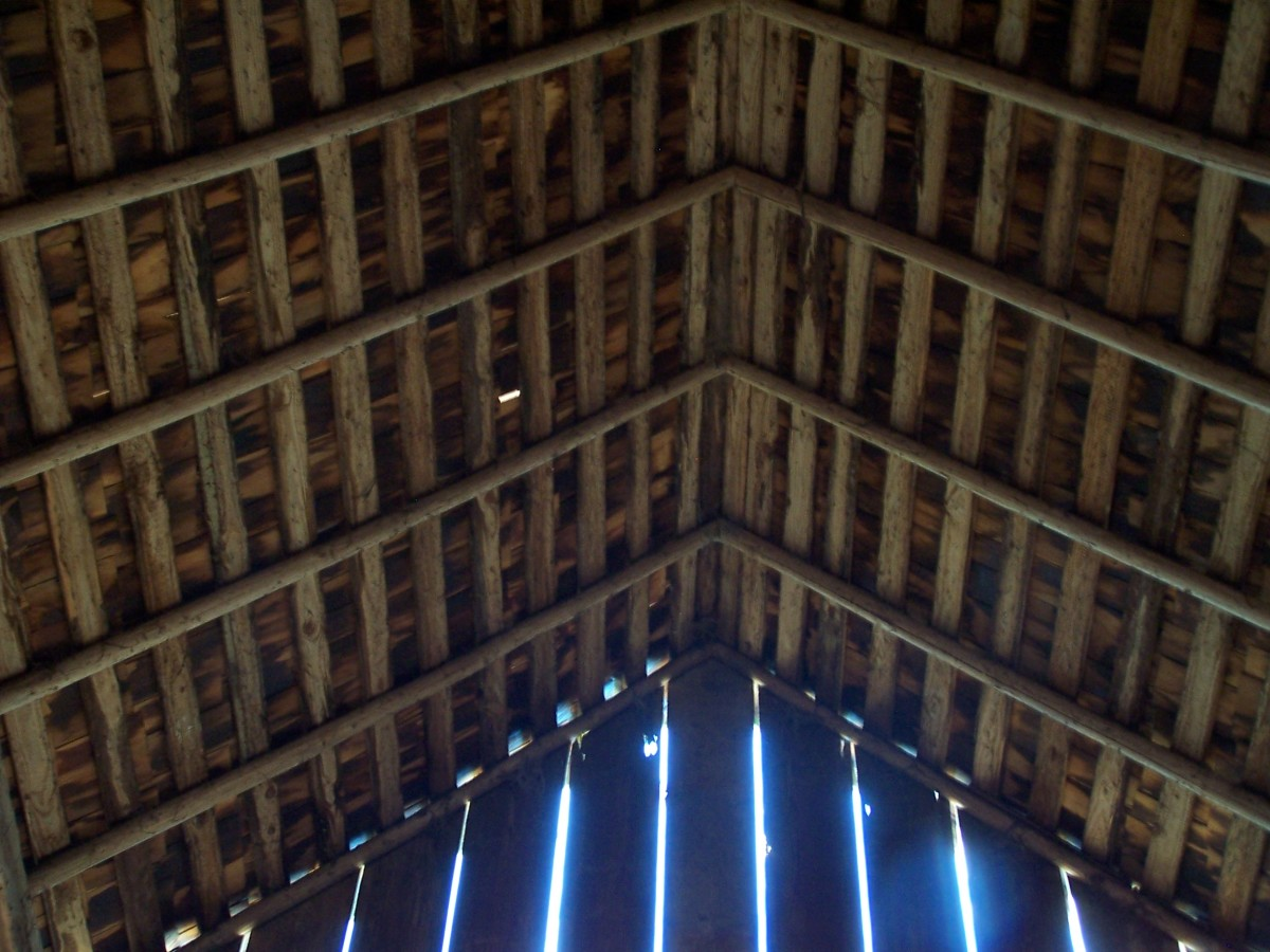 Rafters of the great barn