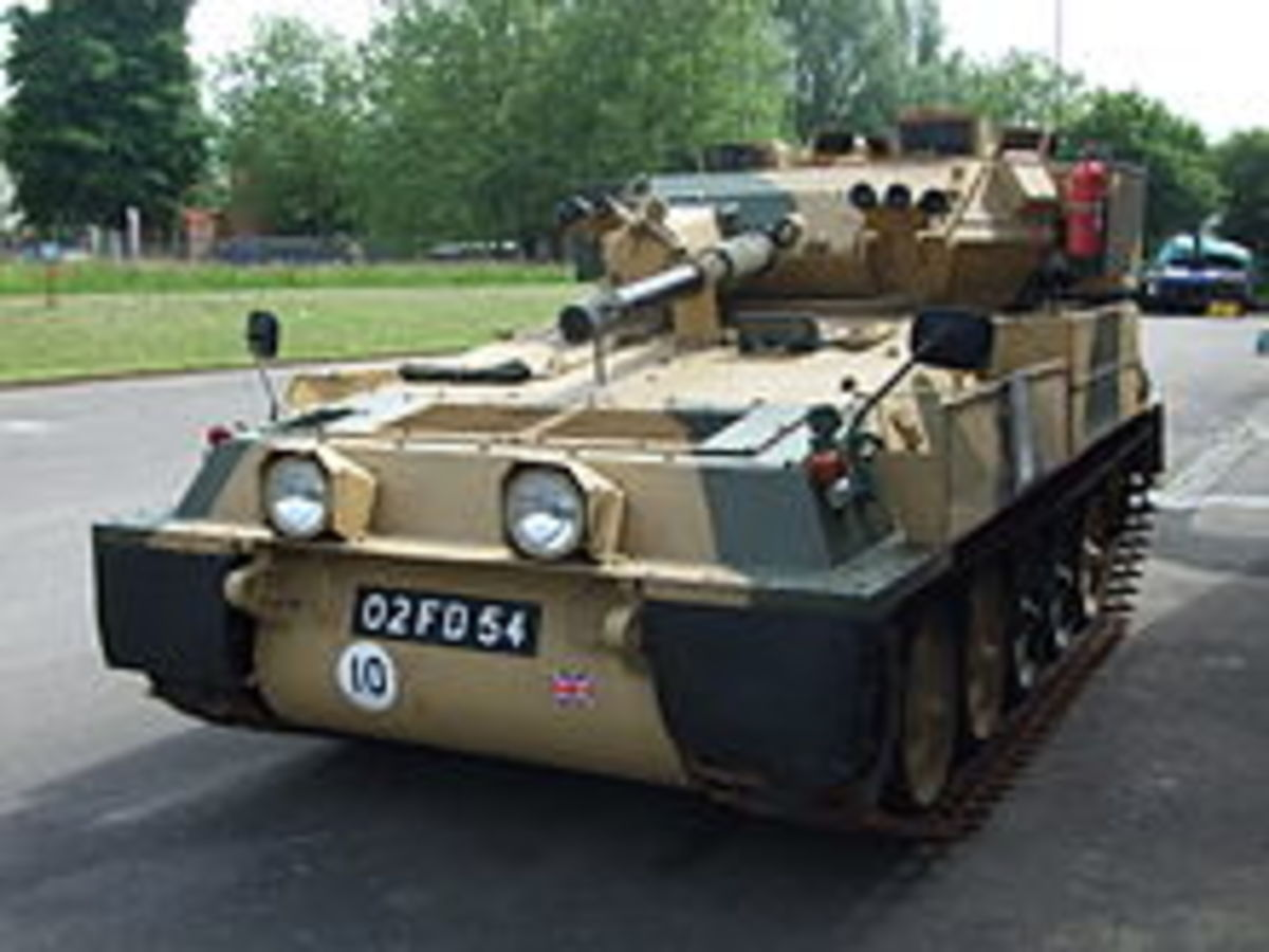 According to Wikipedia the Scorpion holds the record as the fastest Tank in the world at 53 miles and hour (it's governed down as I know it can do 70 without the governors). Britain sold them to Iran but then Iran built her own