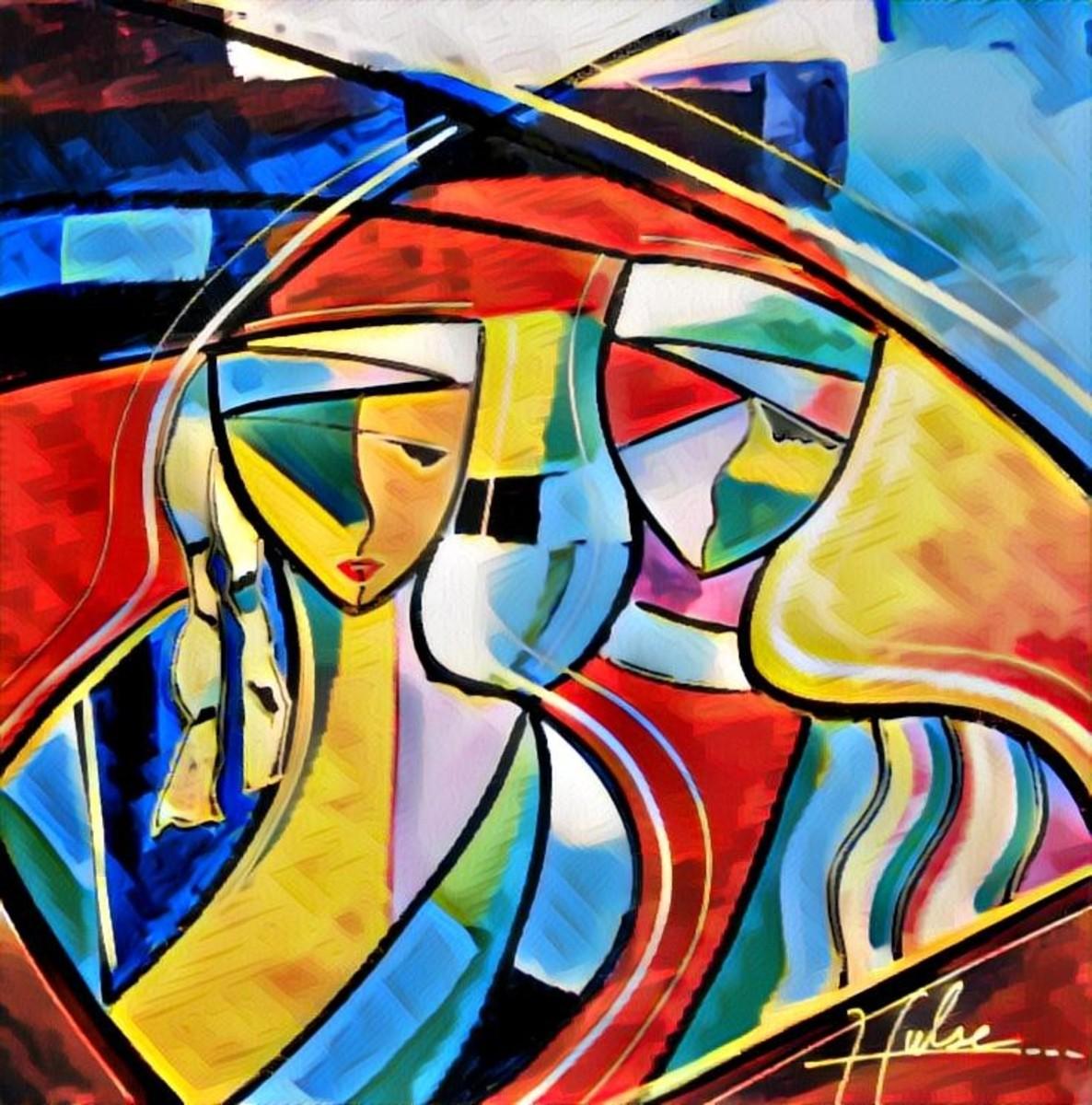 Original art by Gina Welds Hulse