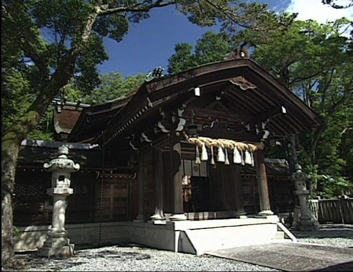 Izanagi Jingu, located on Awaji Island.
