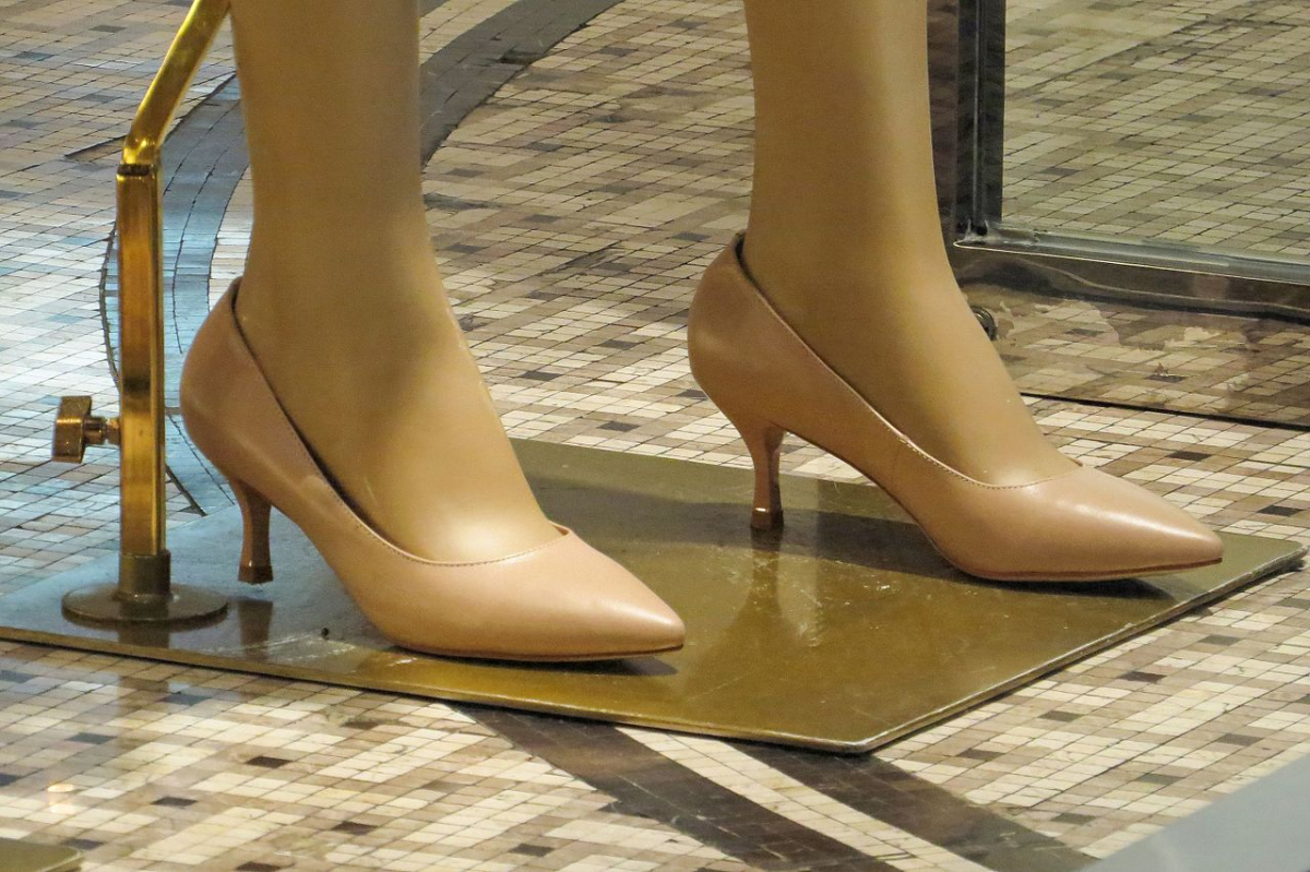 Her ankle—the one she broke months ago, had healed, but she still walked with a bit of a limp, out of habit, from trying not to put all her weight on it.
