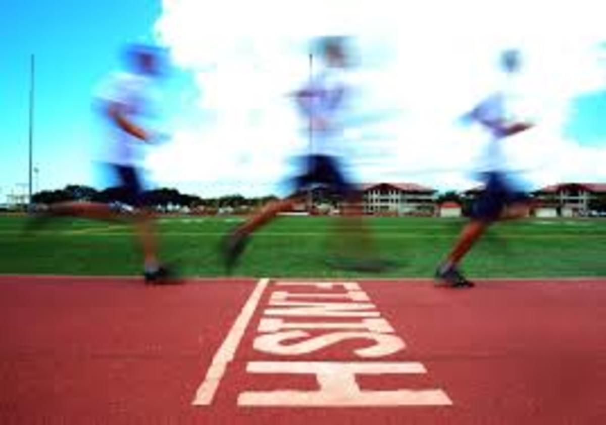 the-race-running