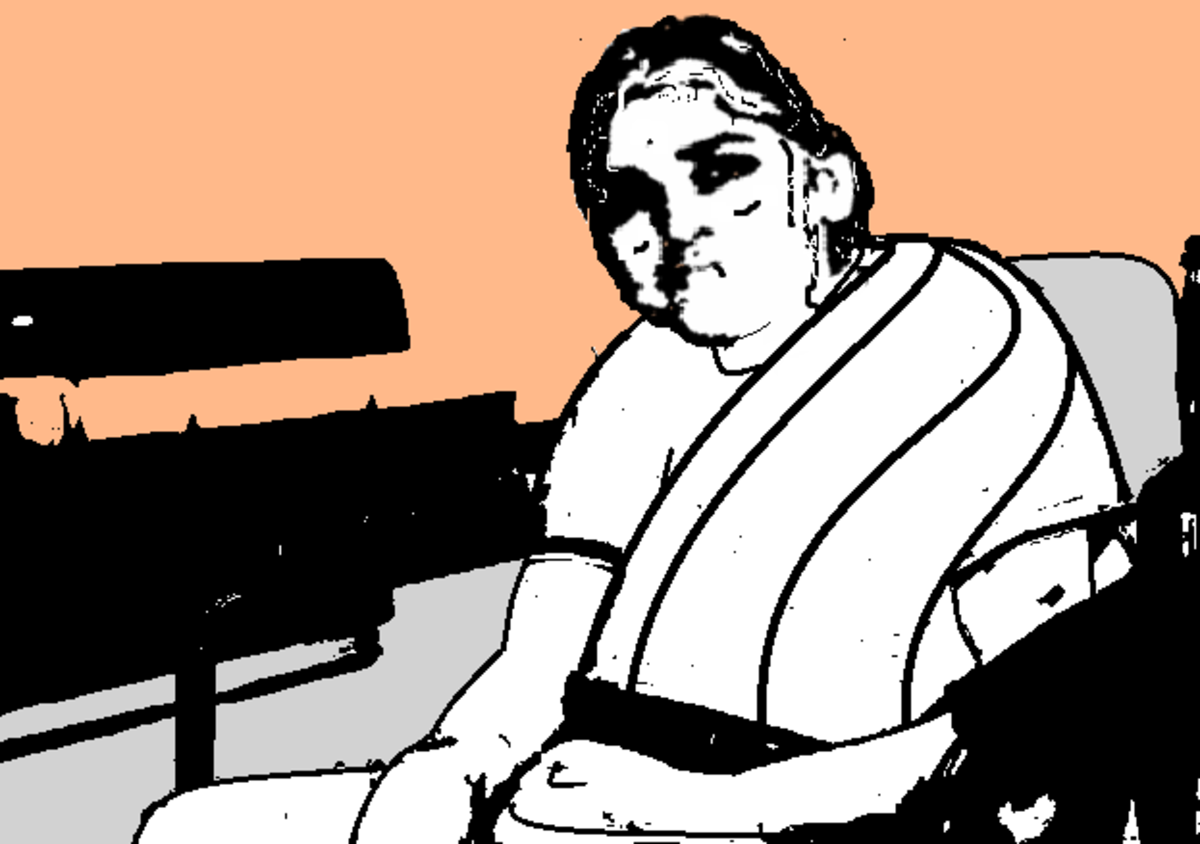 A stricken Janaki