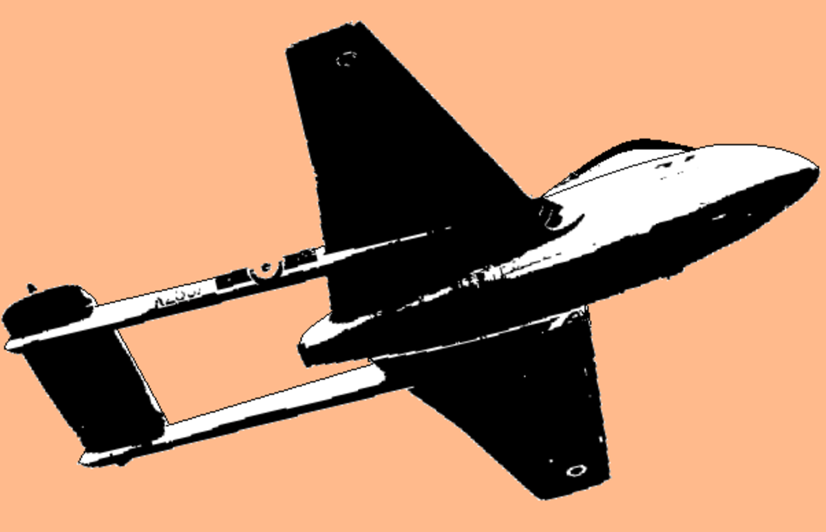 Vampire aircraft of IAF