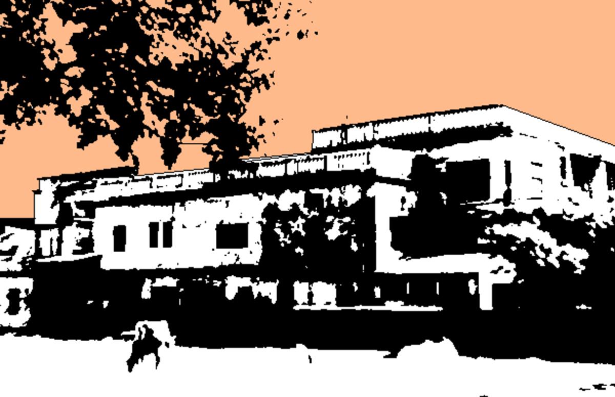"""Ramnivas"", the residence of the Swamis at Benaras"