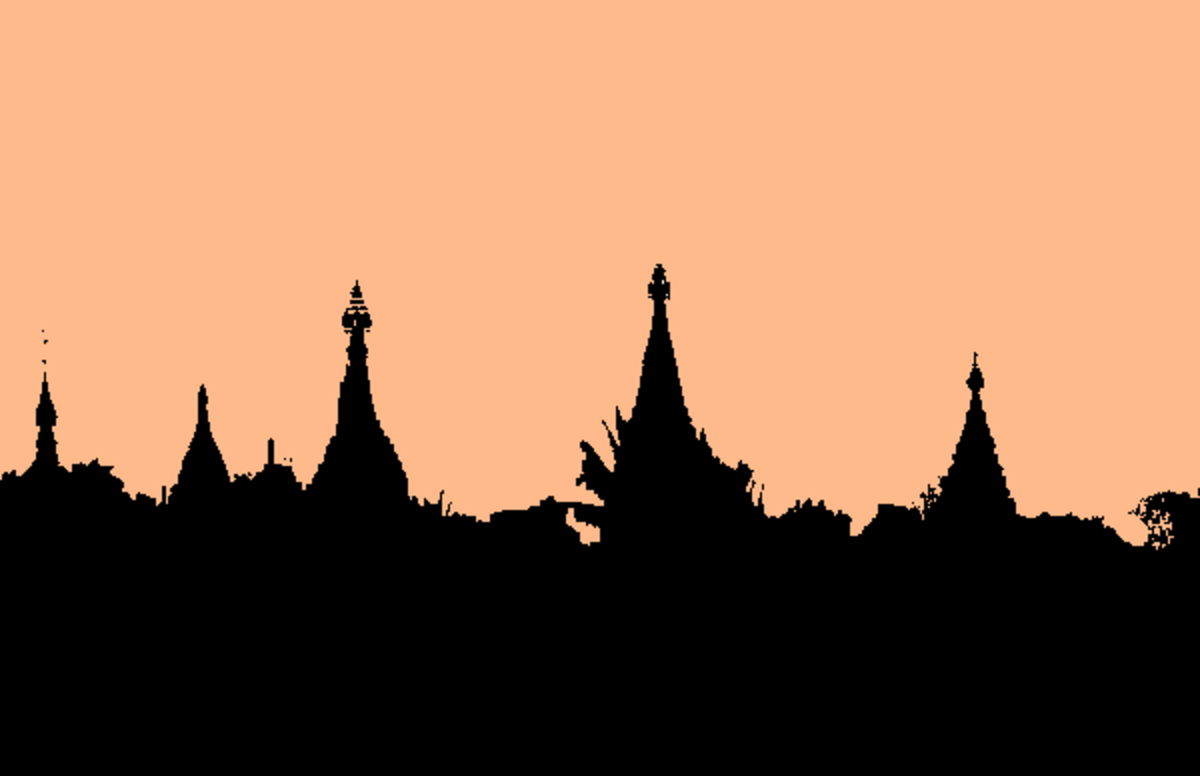 Burma, the land of Pagodas