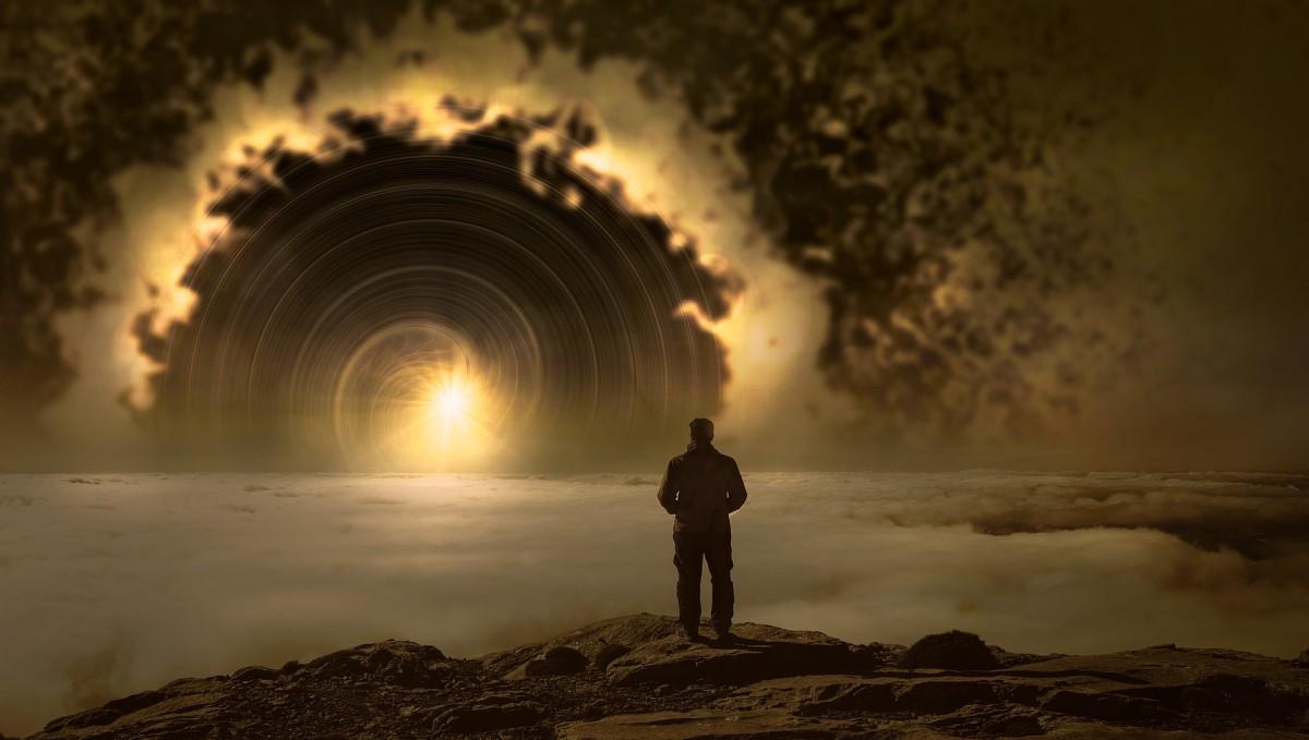 I wander not in vain.