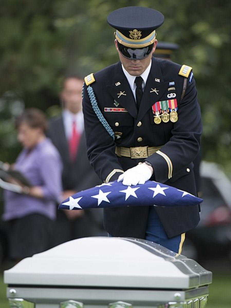 Burial service for soldiers missing from Vietnam War in Section 60 of Arlington National Cemetery--honestly, THE ABOVE is what my friends and I feared about going to Vietnam.