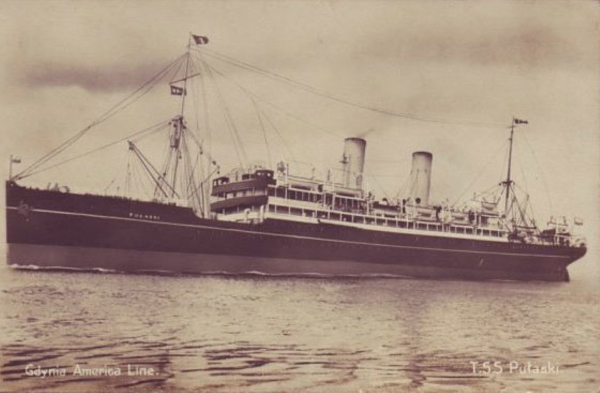 The SS Pulaski