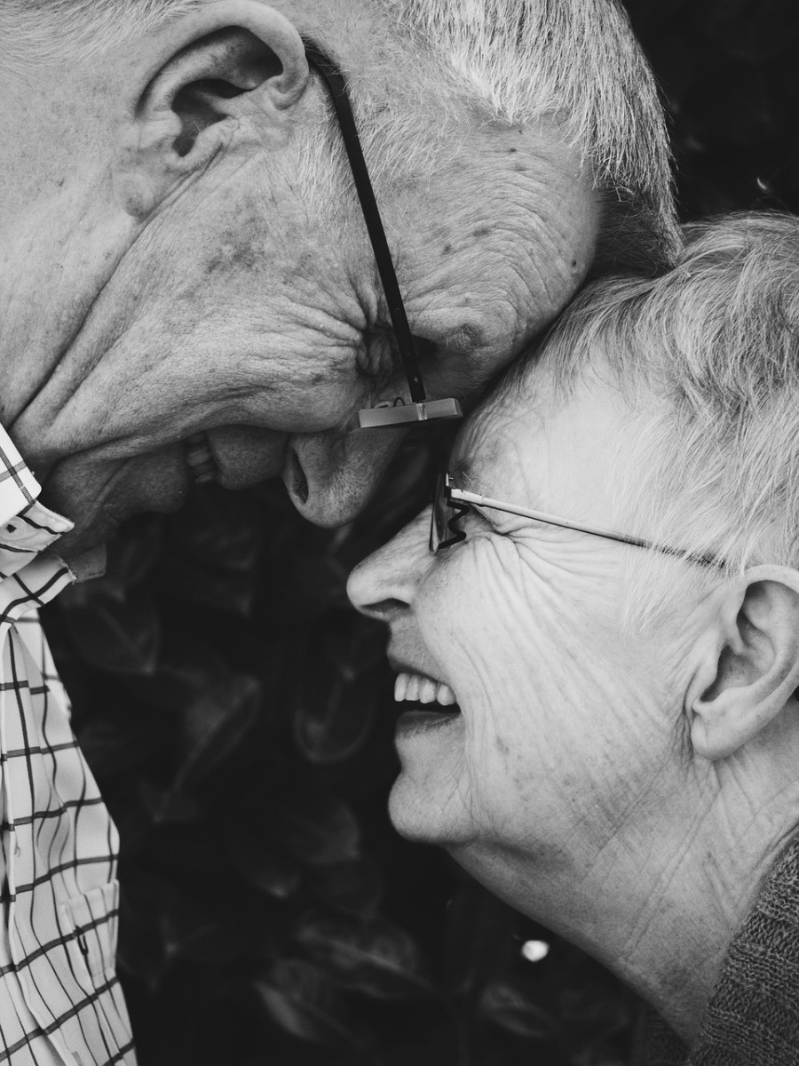 Older couples value their time together as they reminisce about the good and bad times of the past and how they survived it all.