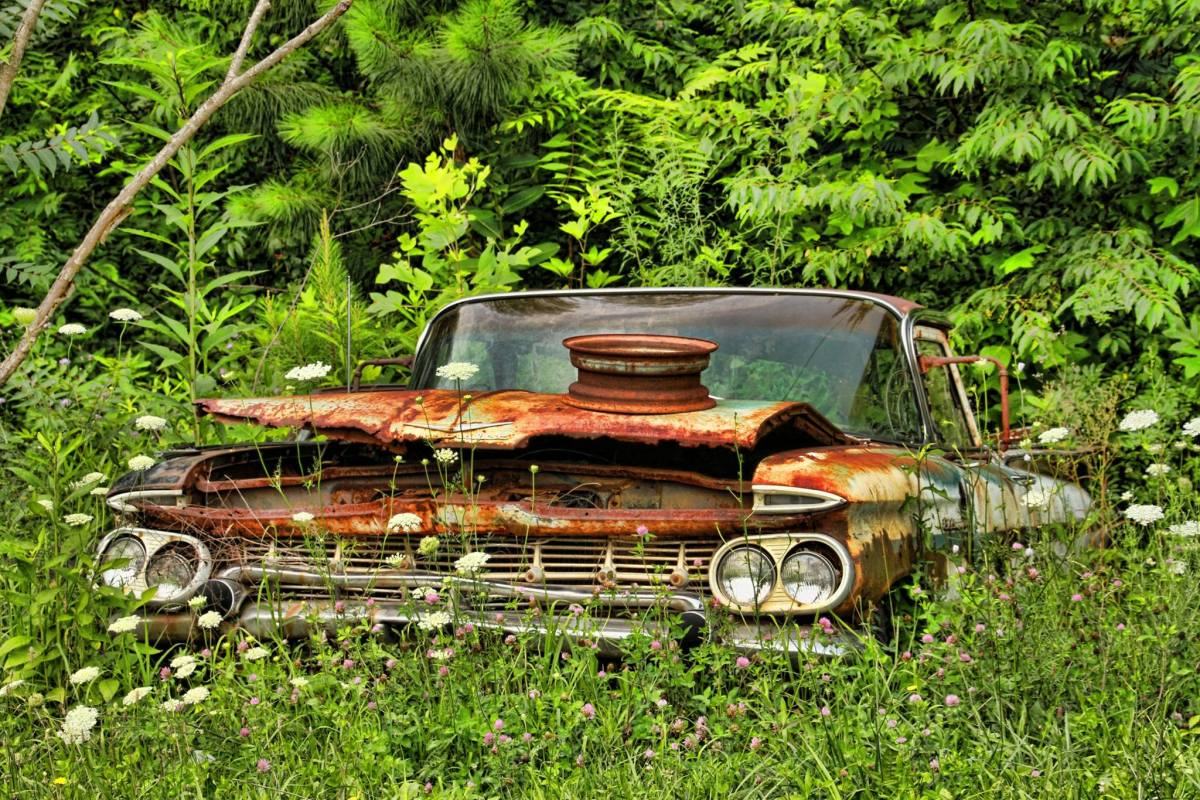 Eventually all luxury cars can rust into junk.