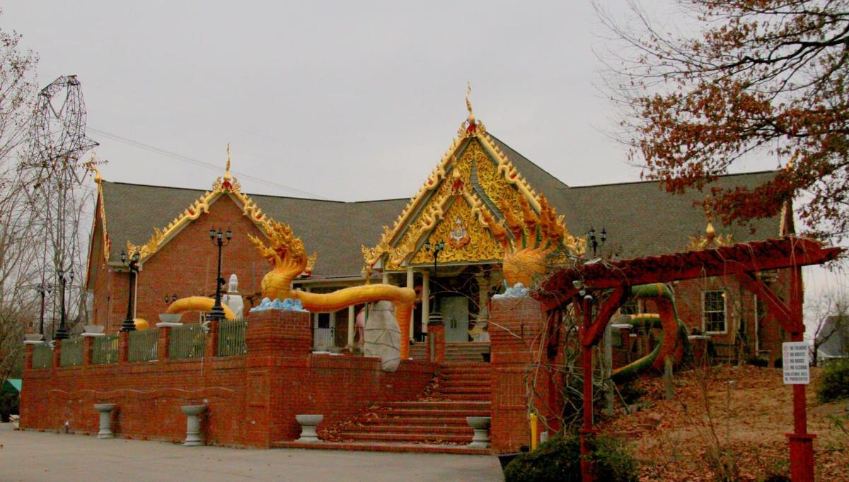 A Buddhist temple