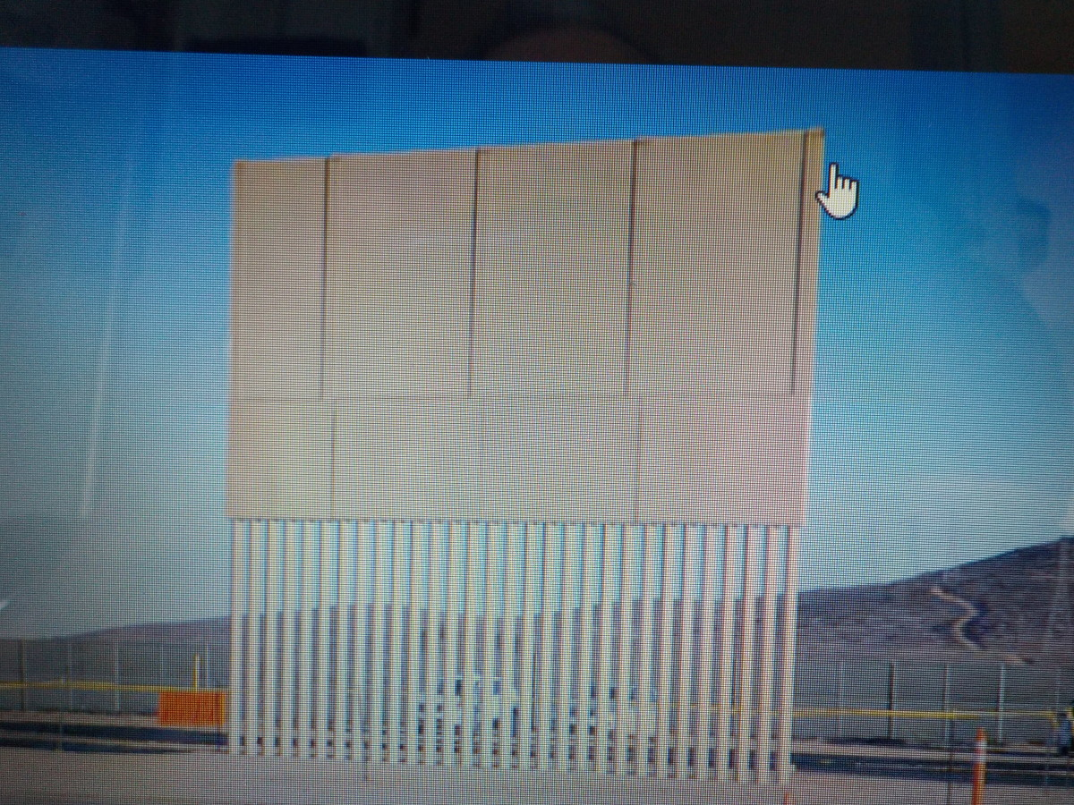 One of President Trump's Wall Choices