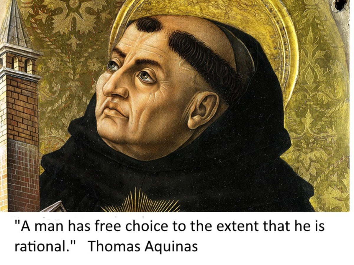 Saint Thomas Aquinas believed that all morality was the result of reason and logic. It had nothing to do with religous teaching or one's feelings.