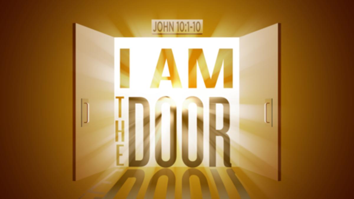 Jesus said He is the door that we can enter.