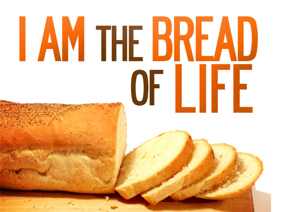 Jesus is the Bread of Life that sustains us.