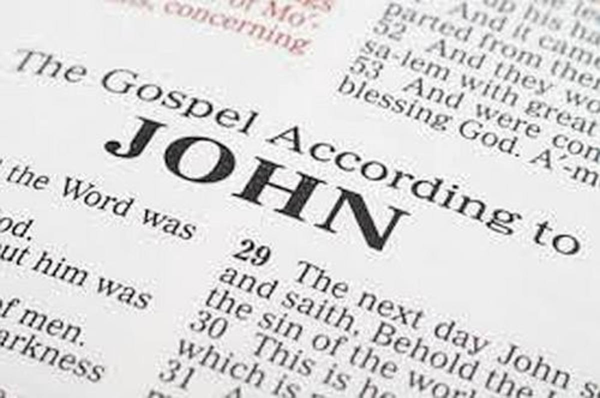 The Gospel of John is the only gospel that includes all seven statements Jesus made about who Himself.
