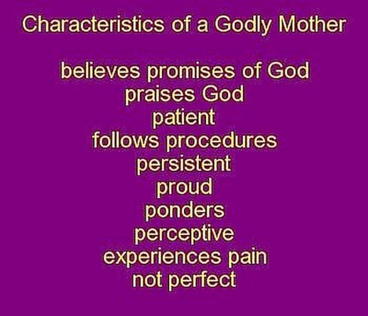 The characteristics of a good mother - essay | Research paper Sample