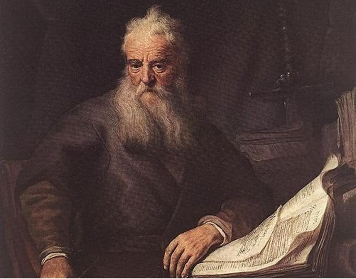 """Rembrandt's """"Apostle Paul"""" (1633)"""