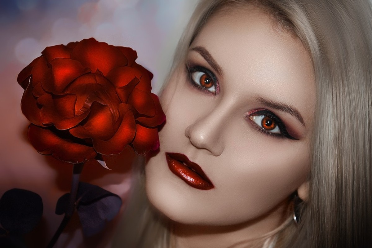 Say hello to Lethal Lipstick--makes a woman look gorgeous and confident if trouble comes her way.