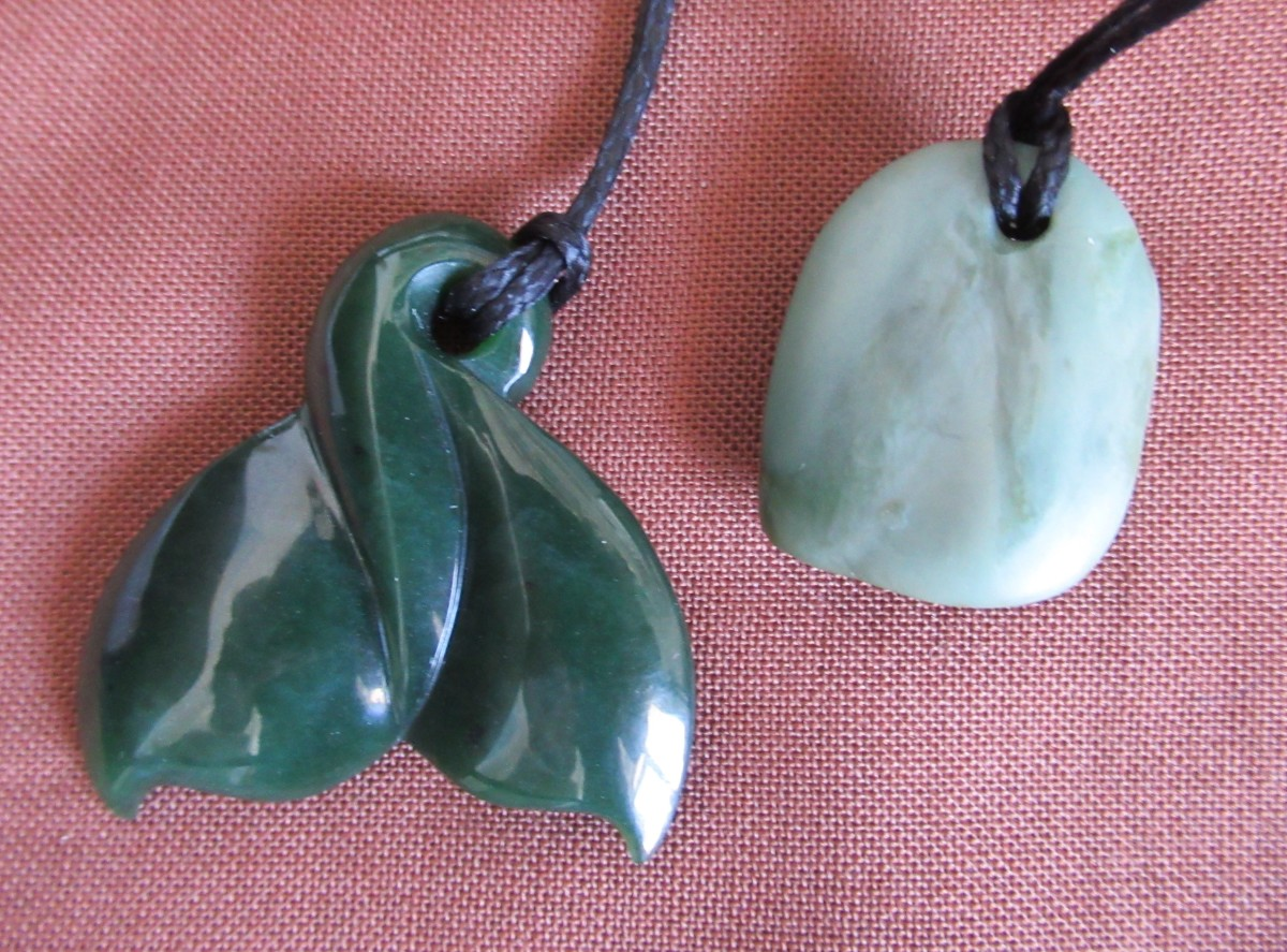 Pounamu or Greenstone (New Zealand Jade)