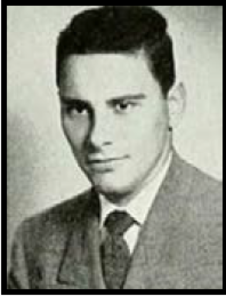 Marine Corps 2nd Lt Ernest Arthur Coblentz. Assigned to Company G, 3rd Battalion, 5th Marines, 1st Marine Division. Coblentz was killed in action from small arms fire in Korea. Gave his life on September 17, 1951.