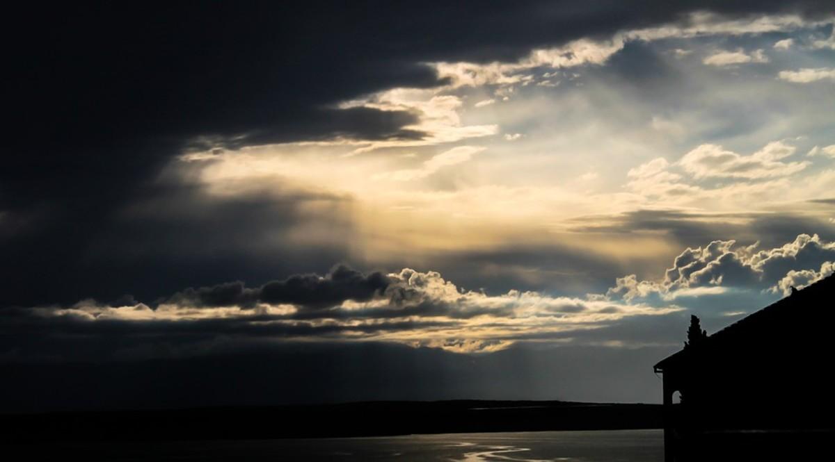 The darkened ocean was calling to her.