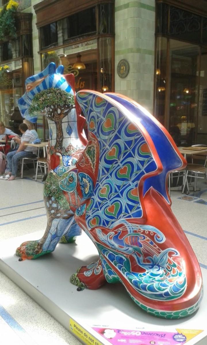 Dragon Statue: Norwich