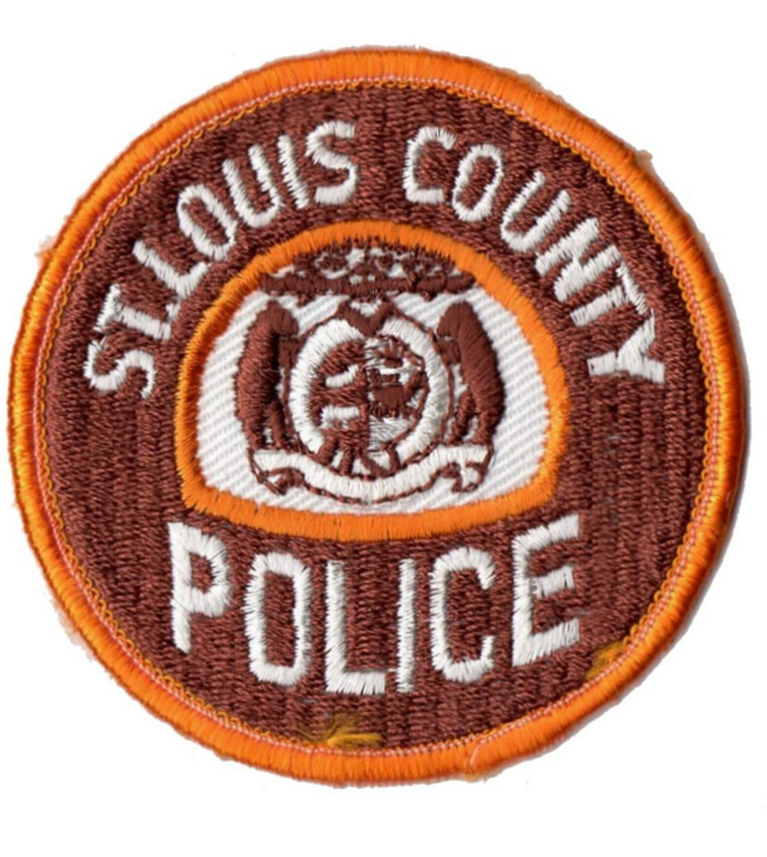 This was the uniform shoulder patch used by the St. louis County Police during the time I served there.