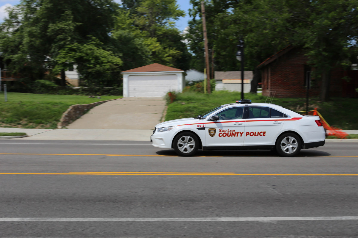 St. Louis County Police car in 2016