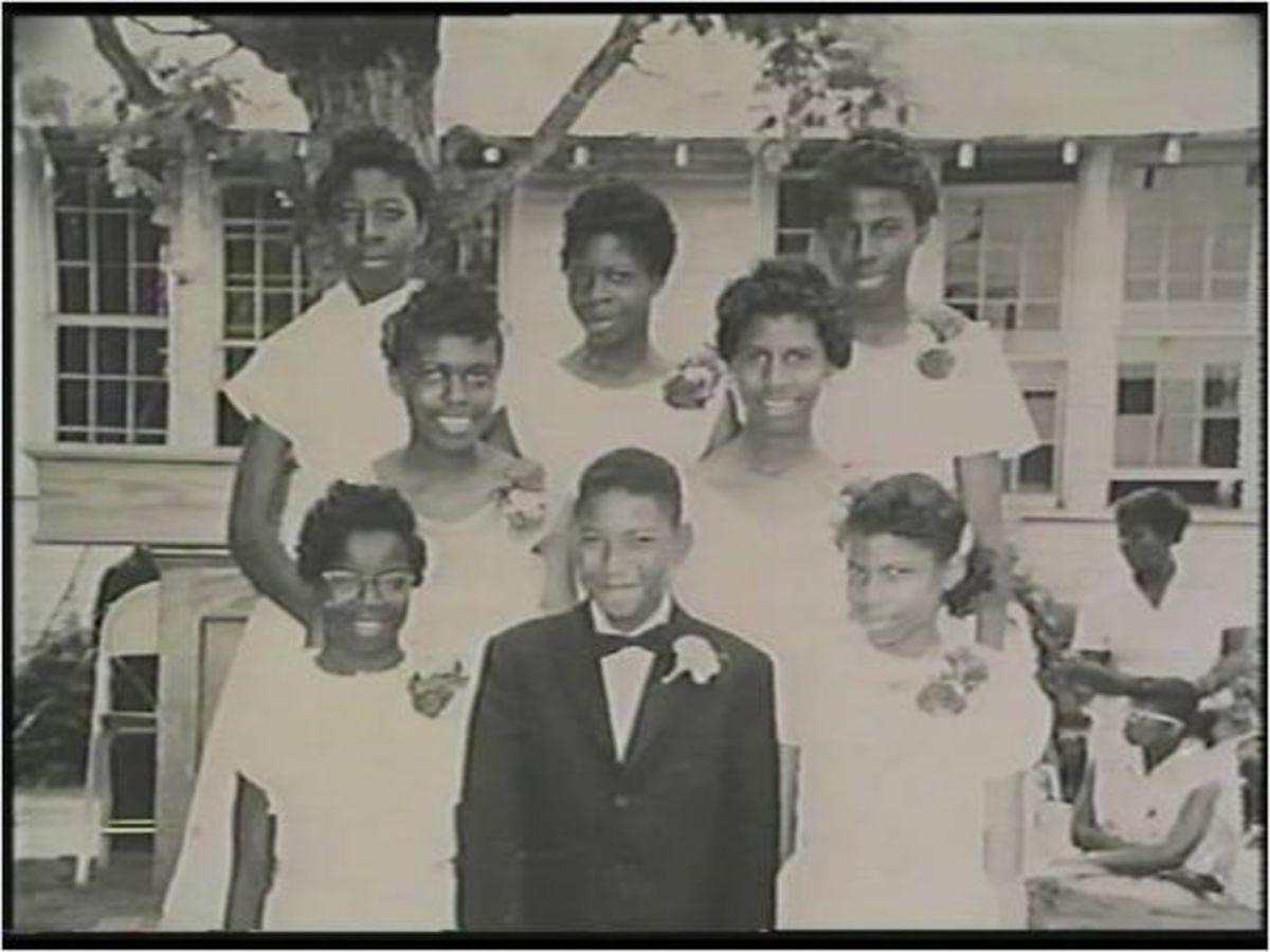 Graduation Class, Rivers Elementary School, 1959