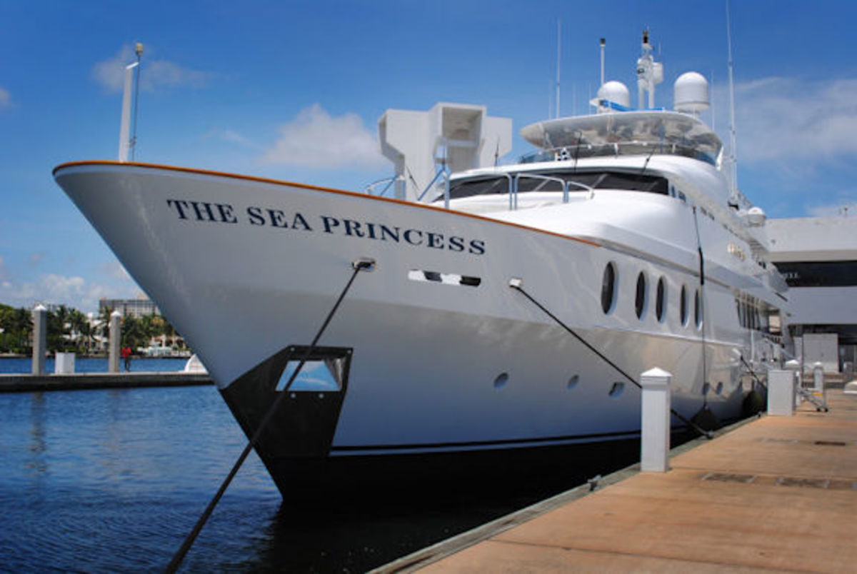 The Sea Princess was the ill-fated yacht the Baileys were scheduled to board.