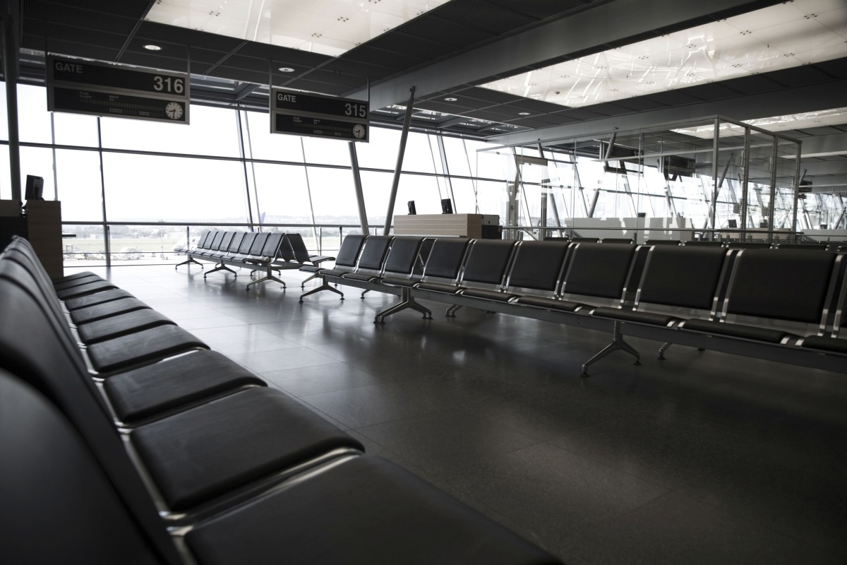 The terminal seemed unusually empty to Andrea but it was just her imagination … and longings!