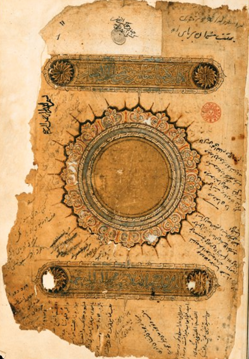 A text on Persian Islamic philosophy and spiritual alchemy by Al-Ghazālī (1058–1111).