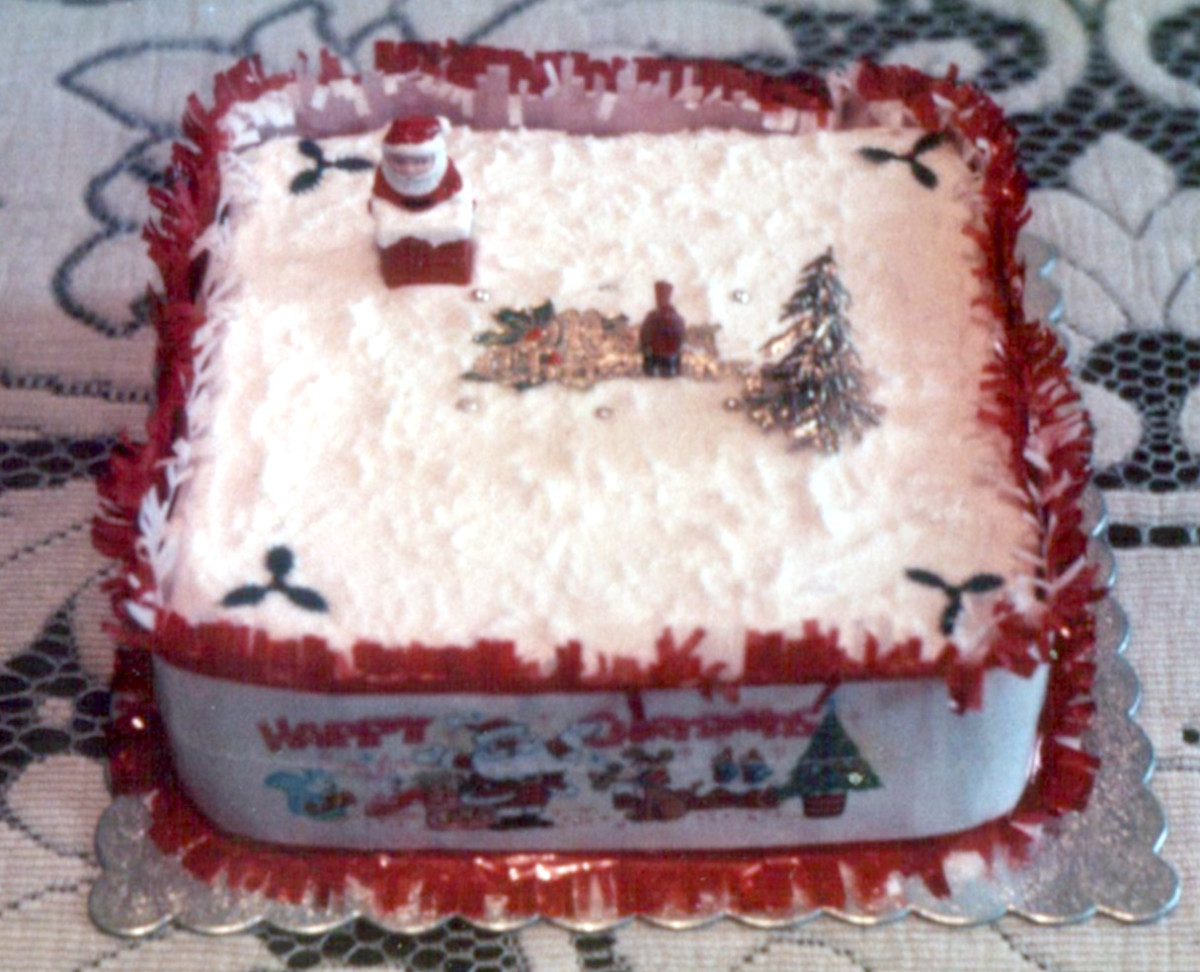 Working Class Life in the 1940s and 50s – Christmas Cake and Pudding