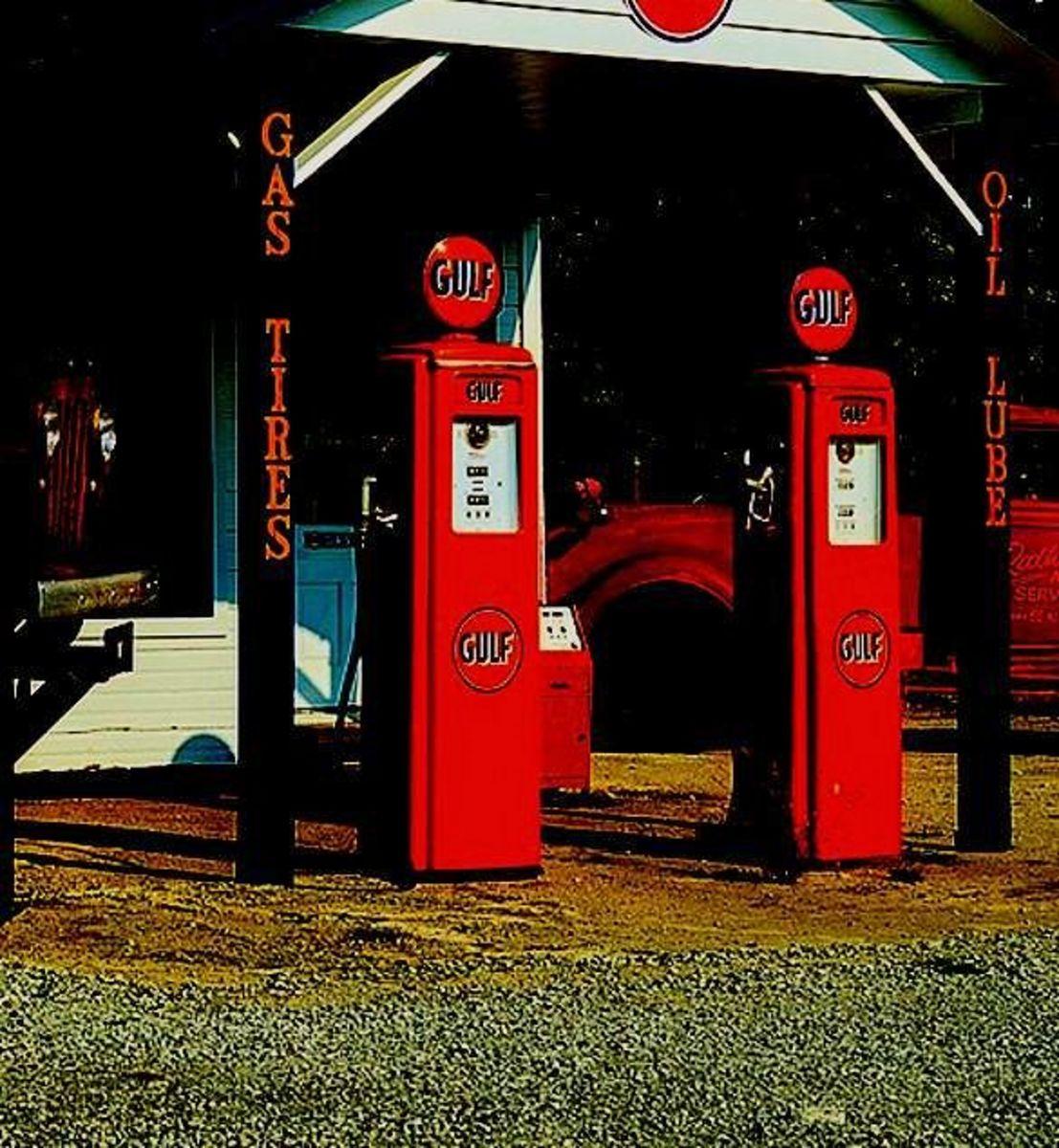 Gas Station in Summersend