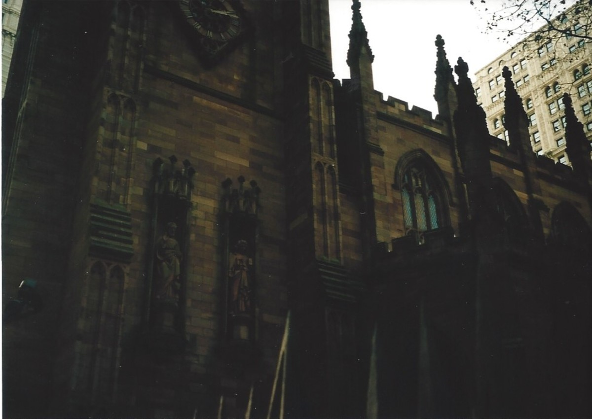 Trinity Church, one of the settings for the movie, National Treasure.