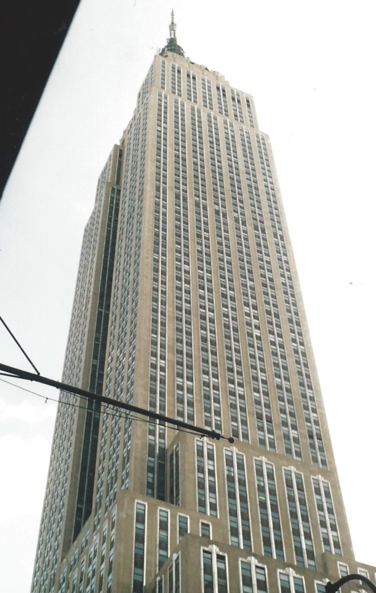 The Empire State Building, December 2002.