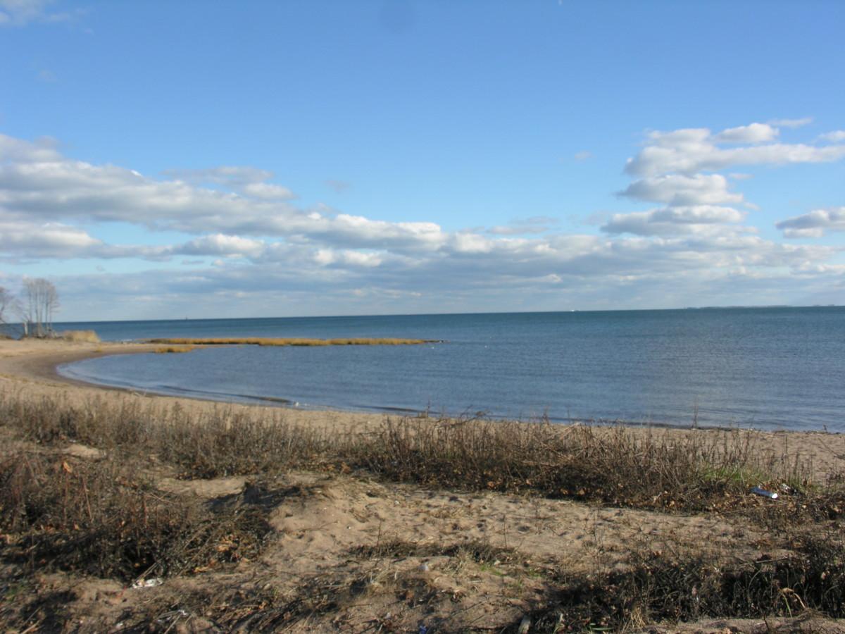 Gateway National Park, Staten Island, Ocean View, late November 2014.