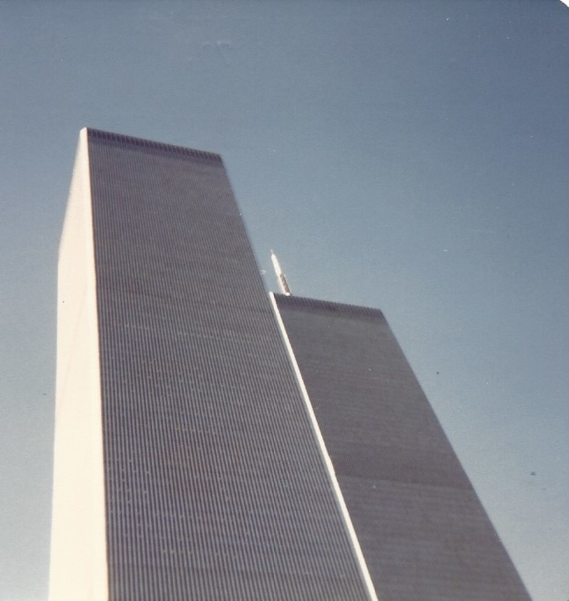 The Twin Towers, December 1979.