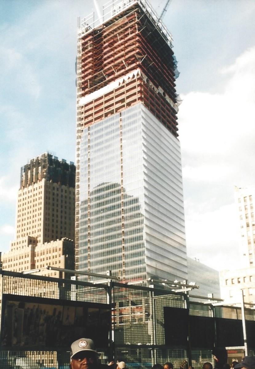 World Trade Center 7 under construction, December 2004.